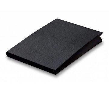 Vandyck Fitted sheet Black-094 (percale cotton)