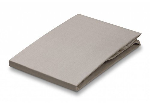 Vandyck Fitted sheet Stone-169 (percale cotton)
