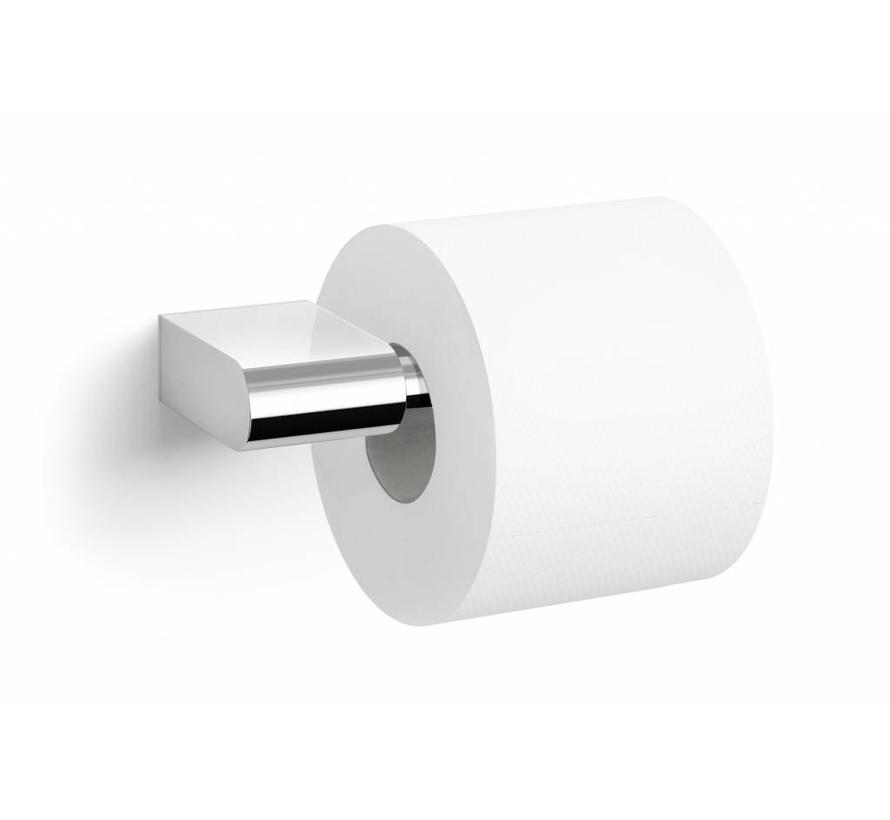 Zack Atore Toilet Roll Holder Wall Mounted Polished Stainless Steel Gloss Bath Living