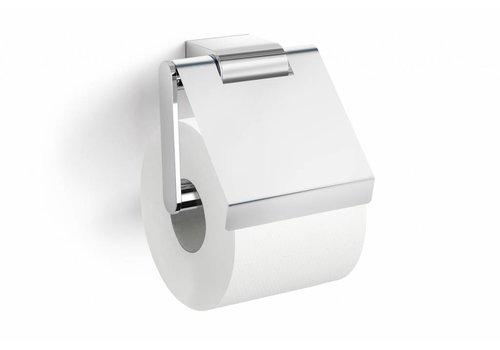 ZACK ATORE toiletrolhouder met klep (glans)