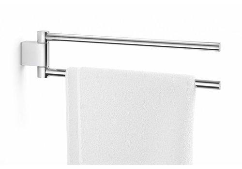 ZACK ATORE håndklædestang svingbar (glans)