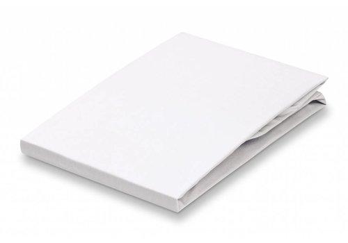 Vandyck Laken satijn White-090