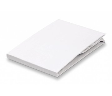 Vandyck Fitted Sheet White-090 (satin bomuld)