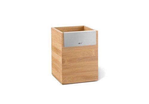 ZACK SCARTA træ opbevaringsboks 12x12cm (1 rum)