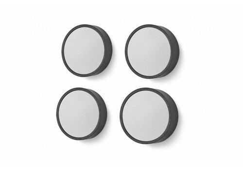 ZACK MONOR magnets Ø3 cm (set / 4)