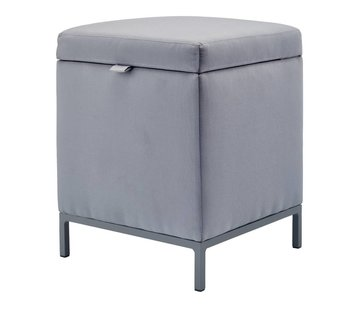 Aquanova SPARK hocker / ottoman Gray-92