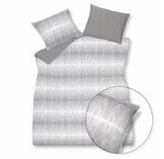 Vandyck PURE 18 funda nórdica 140x220 cm gris-011 (lino / algodón)