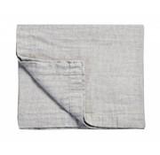 Vandyck PURE 22 plaid / colcha 260x260 cm Gray-011 (algodón / lino)