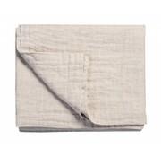 Vandyck PURE 22 plaid / bedspread 260x260 cm Sand-048 (cotton / linen)