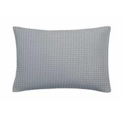 Vandyck HOME Pique Kissenbezug 40x55 cm Stahl Grau-426