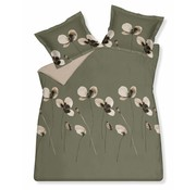 Vandyck DAILY duvet cover 140x220 cm Olive-113 (sateen cotton)