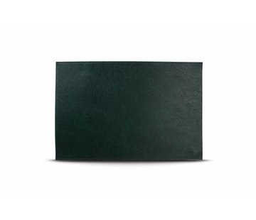S&P Placemat lederlook groen (set/4)