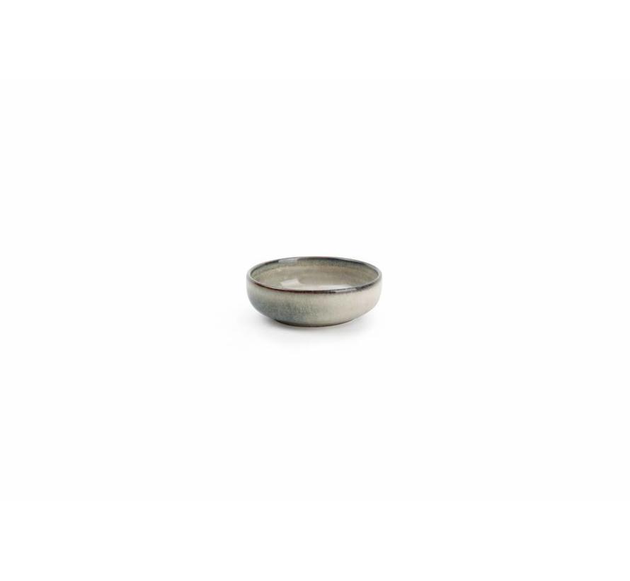 MERIDIAN kom Ø 9cm grijsgroen (set/4) 850603
