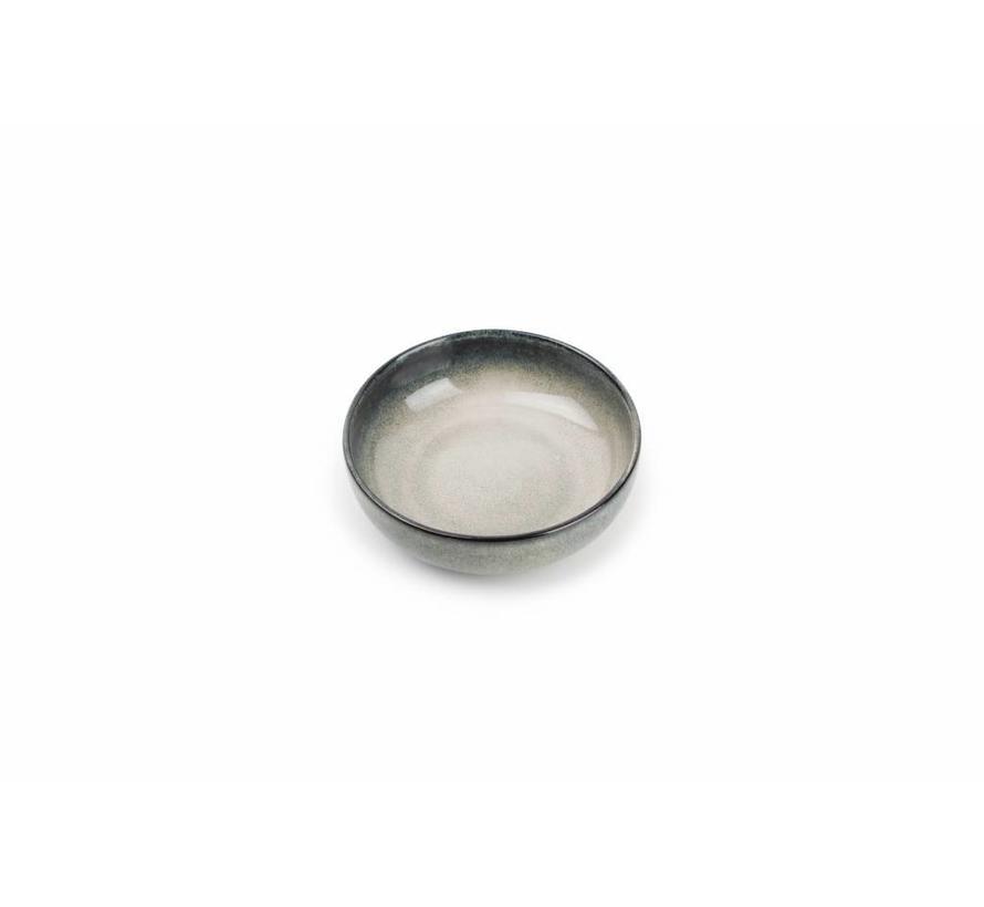 MERIDIAN kom Ø 13cm grijsgroen (set/4) 850604