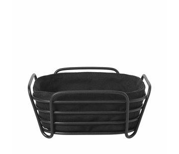 Blomus DELARA bread basket 20x20 cm (Black)