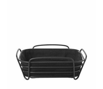 Blomus DELARA bread basket 25x25 cm (Black)