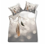 Vandyck Duvet cover WINTERGLOW Cool Gray 200x220 cm (cotton)
