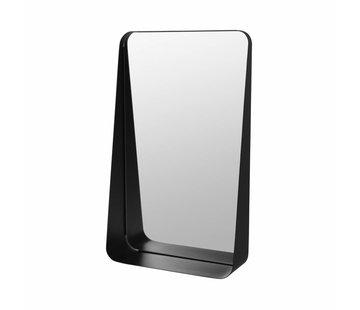 Blomus Espejo de pared ARCO 30x50 cm (negro)