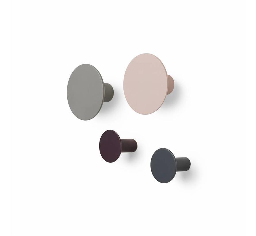 PONTO wandhaken multicolor (set/4) 65801