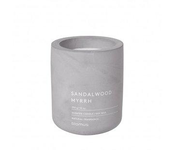 Blomus Vela perfumada FRAGA Sandelwood Mirra (290 gramos)