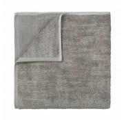 Blomus Badehåndklæde GIO 70x140 cm Satellit (brun / grå melange)