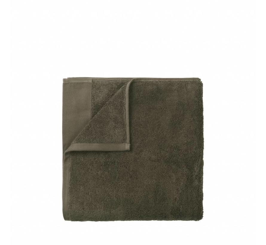Handdoek RIVA 50x100 cm kleur Agave Green 700 gr/m² (69123)