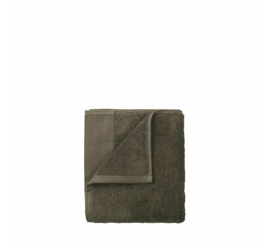 Gastendoek (set/4) RIVA 30x30 cm kleur Agave Green 700 gr/m² (69128)