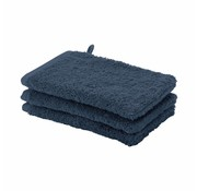 Aquanova Washand set/6 LONDON kleur Indigo-256