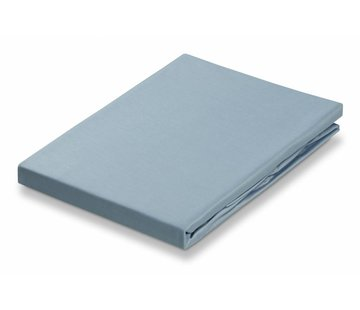 Vandyck Fitted Sheet Dusty Blue-114 (satin bomuld)