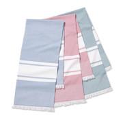 Vandyck Hammam håndklæde KEY WEST 100x180 cm (China Blue-406)