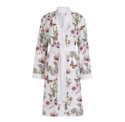 Vandyck Bathrobe SEVILLA with butterfly print