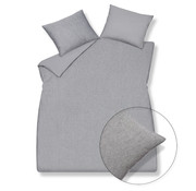 Vandyck Funda nórdica PURE 29 gris 140x220 cm (lino / algodón)