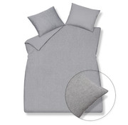 Vandyck Bettbezug PURE 29 Grau 200x220 cm (Leinen / Baumwolle)