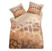 Vandyck Duvet cover SCANDALOUS Sand 200x220 cm (satin cotton)