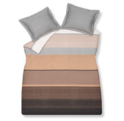 Vandyck Duvet cover FUNKY Sand 140x220 cm (satin cotton)