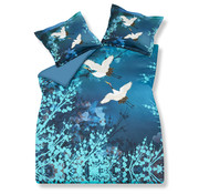 Vandyck Duvet cover CRANE BIRD 200x220 cm (satin cotton)