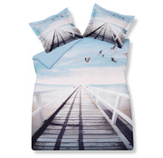 Vandyck Duvet cover OCEAN PIER 200x220 cm (satin cotton)