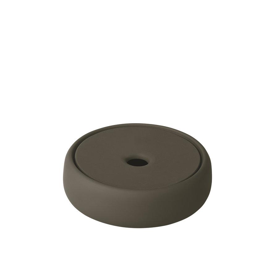 Opbergbox / zeepschaal SONO  kleur Tarmac (69157)
