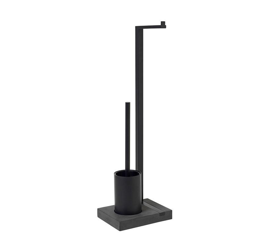 MENOTO toilet butler 1 roll (black) 69151