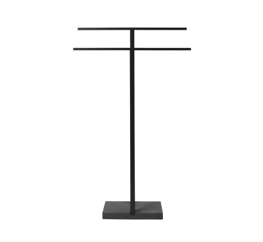 Toallero MENOTO 50 cm (negro) 69150