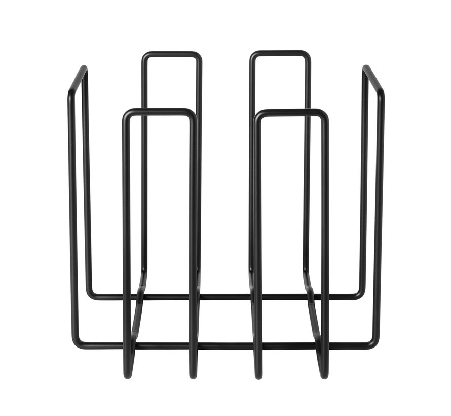 WIRES magazine rack color black (65927)