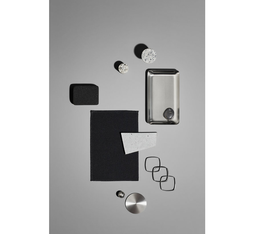 PONTO ganchos de pared gris terrazo (juego / 4) 65900
