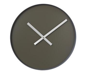 Blomus Reloj de pared RIM 40 cm (asfalto).