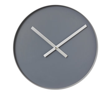 Blomus RIM wall clock 40 cm (steel gray)