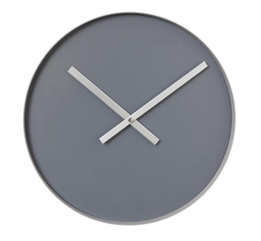 RIM reloj de pared 40 cm (acero gris) 65911