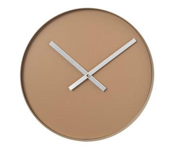 Blomus RIM reloj de pared 40 cm (bronceado indio)