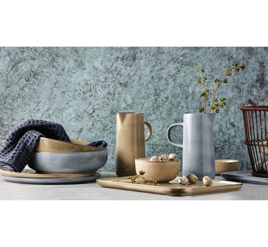 RELIC pasta plate 18 cm natural (set / 4) - SP47445