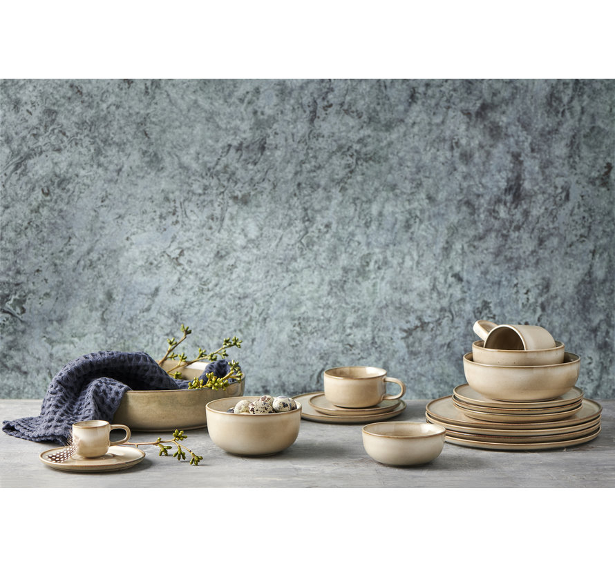 Plato de pasta RELIC 18 cm natural (juego / 4) - SP47445