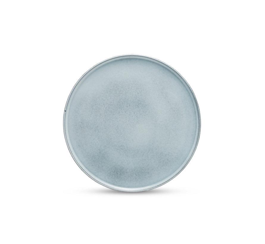 RELIC flade plade / betjeningsplade 33 cm blå - SP47585
