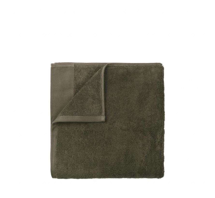 Towel RIVA 50x100 cm Agave Green - Set / 3 pieces